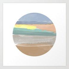 Anna's Sunrise Art Print