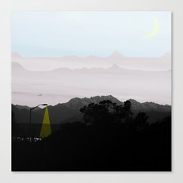 Under a Watchful Sky Canvas Print