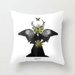complicated creature - stillness Throw Pillow