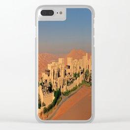 Qasr Al Sarab Desert Resort in Abu Dhabi Clear iPhone Case
