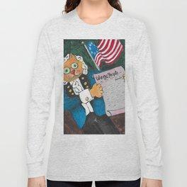 Delaware Cat Long Sleeve T-shirt