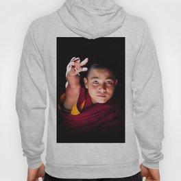 Young Buddhist Monk Hoody