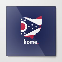 Ohio Proud Metal Print
