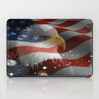 patriotic iPad Cases featuring Patriotic America by D.A.S.E. 3