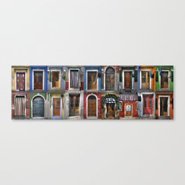 Italian doors Canvas Print