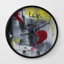 Remember love Wall Clock