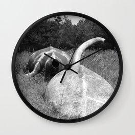 deceased  Wall Clock