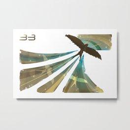 3 Birds Metal Print