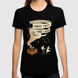 Gramophone couple swing dance T-shirt
