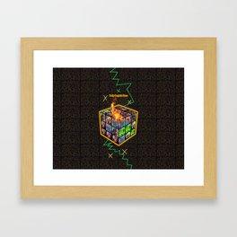 Let The Games Begin Framed Art Print