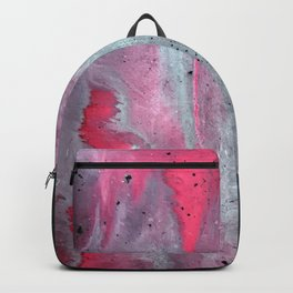 Painted Over a Concrete Feel Backpack