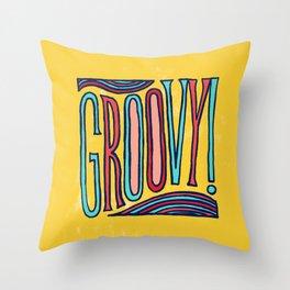 Groovy! Throw Pillow