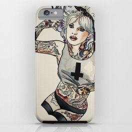 Brigitte Bardot iPhone Case