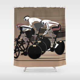 Velodrome Shower Curtain