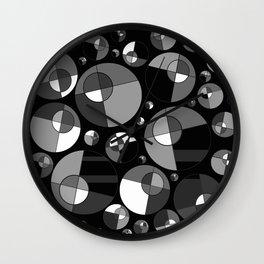 Bubble Grey 11 Wall Clock