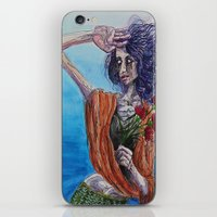 mirror iPhone & iPod Skins featuring Mirror by Katy Daiber