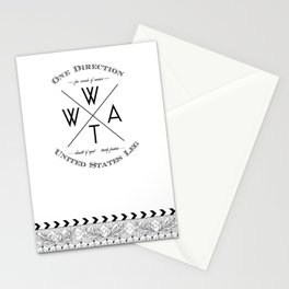Where We Are Tour - DC Stationery Cards