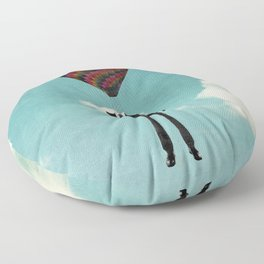balloon man Floor Pillow