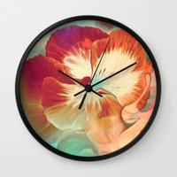 tiki Wall Clocks featuring Tiki Tiki by Ginger Del Rey