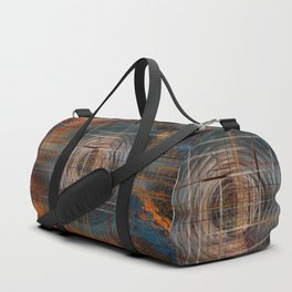 Unoccupied Digital Landscape Duffle Bag