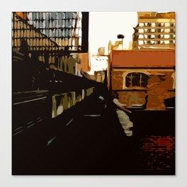 New York Rails  Canvas Print