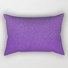 Shiny Glitter, Sparkling Glitter Glow - Purple Rectangular Pillow
