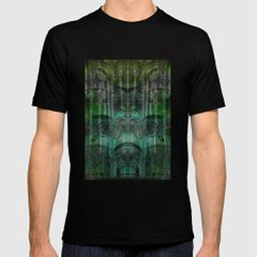 Hungry Eyes Black MEDIUM Mens Fitted Tee