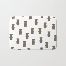 BEAR PATTERN Bath Mat