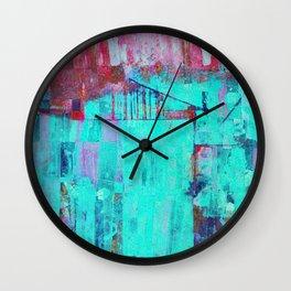 Los Colores de la Noche Wall Clock