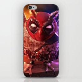 Dead pool owl iPhone Skin