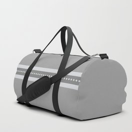 Ribbon 2 Dark Grey Duffle Bag