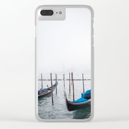 Winter in Venice Clear iPhone Case
