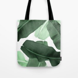 Green Banana Leaf Tote Bag
