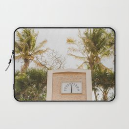 Beautiful Morning for South Beach Laptop Sleeve