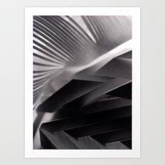 Paper Sculpture #7 Art Print