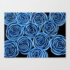 Flowers at Midnight Canvas Print