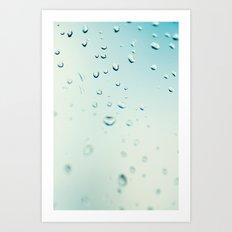 After rain comes sunshine Art Print