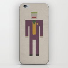 Retro Joker iPhone & iPod Skin