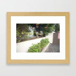 Kevin Offerman. Kickflip. Framed Art Print