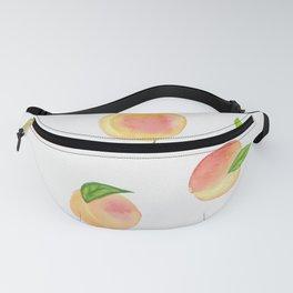 Fun Watercolor Peaches Fanny Pack