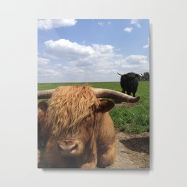 Scottish Highlands - Sylvester and Fia Metal Print