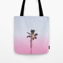 Pink Palm Tote Bag