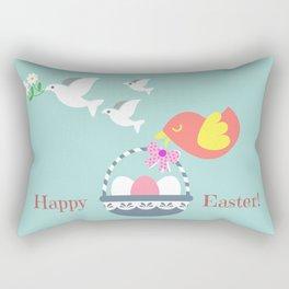 Happy Easter! Rectangular Pillow