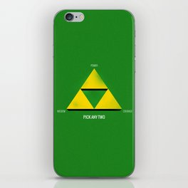 Project Triforce iPhone Skin