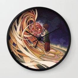 Calcifer Wall Clock