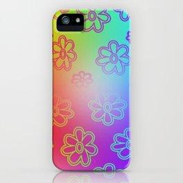 Ombre Hippie iPhone Case