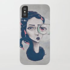 Rare Royal through the looking glass Slim Case iPhone X