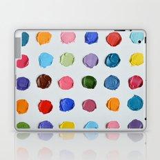 Rainbow Polka Daubs Laptop & iPad Skin
