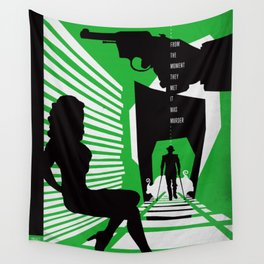 Hardboiled :: Double Indemnity :: James M. Cain Wall Tapestry