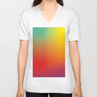 alice wonderland V-neck T-shirts featuring Wonderland by LVKS